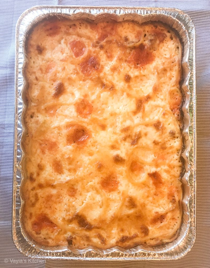 Yiayia's Pastitsio Recipe