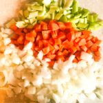 Chop Onion, Carrot and Celery