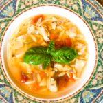 Enjoy your delicious Homemade Chicken Vegetable Soup