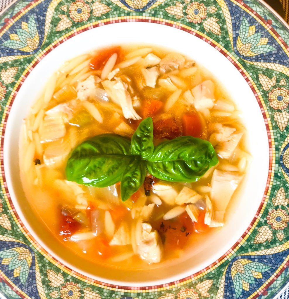 Enjoy your delicious Homemade Chicken Vegetable Soup