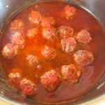 Savory Instant Pot Greek Meatballs
