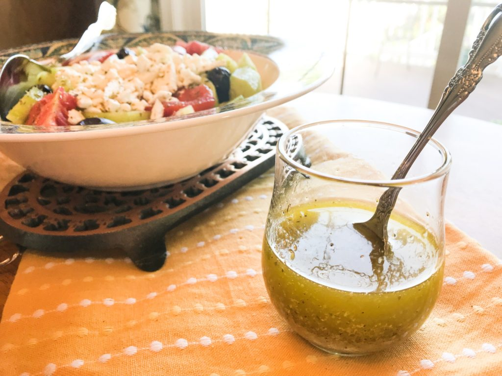 Delicious Greek Dressing and Marinade