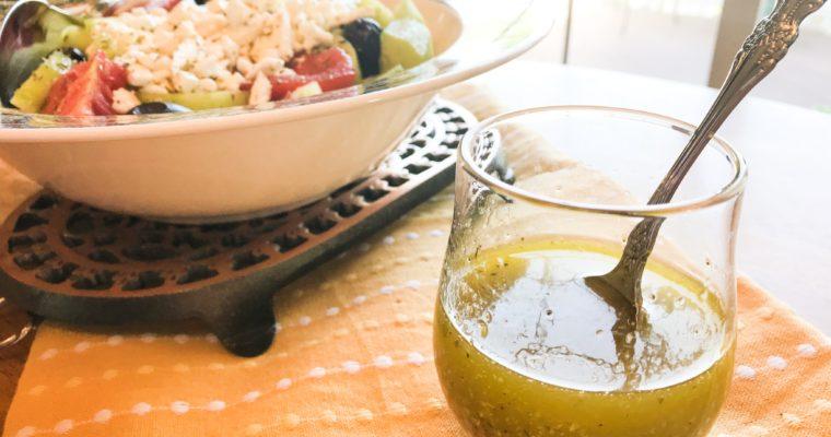 Greek Salad Dressing and Marinade Recipe