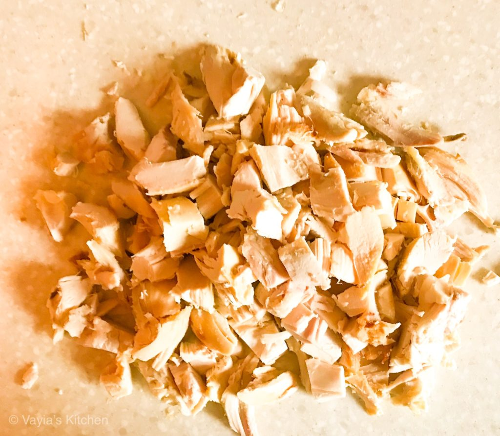 Chop Chicken Into Bite Sized Pieces