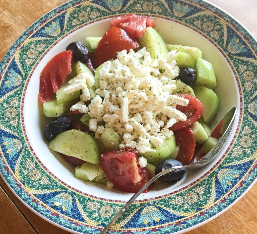 Easy Traditional Greek Salad