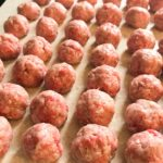 Three Dozen Greek Meatballs