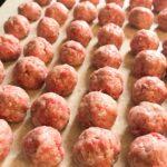 Three Dozen Greek Meatballs