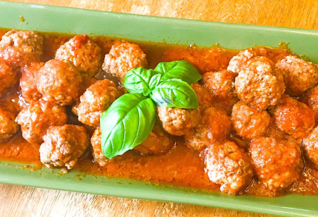 Tasty Instant Pot Greek Meatballs