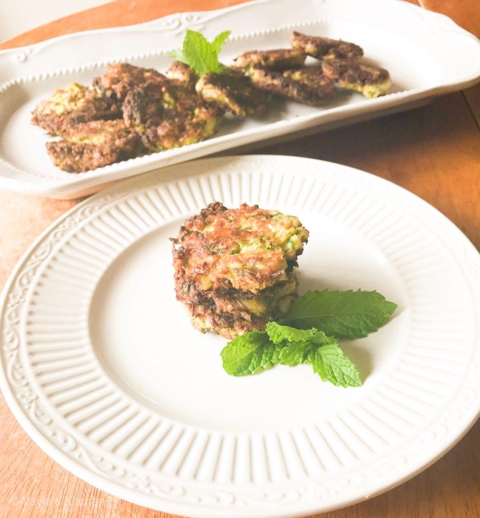 Easy Kolokithokeftedes - Greek Zucchini Fritters