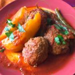 Greek Soutzoukakia with Potatoes and Green Beans (2)