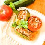 Greek Stuffed Vegetables - Yemista