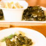Traditional Greek Stuffed Grape Leaves (Dolmadakia)