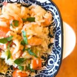 Easy One Pot Shrimp and Rice Dinner