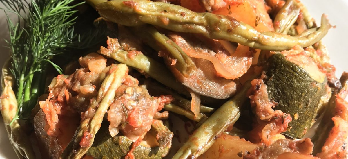 Tourlou Tourlou – Greek Roasted Vegetables