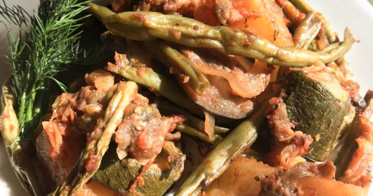 Tourlou Tourlou – Greek Roasted Vegetables