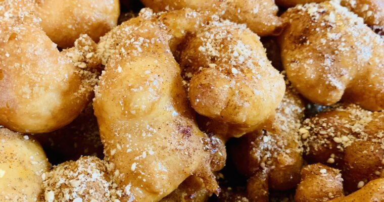 Traditional Greek Loukoumades Recipe (Greek Honey Puffs)
